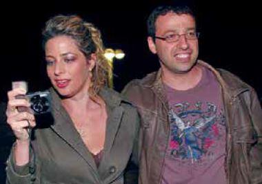 עם בת זוגו ענת גורן // צילום: בוצ'צ'ו