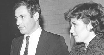 נתניהו עם אישתו השנייה פלייר, 1983
