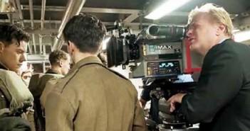 נולאן בצילומי הסרט 'דנקרק'