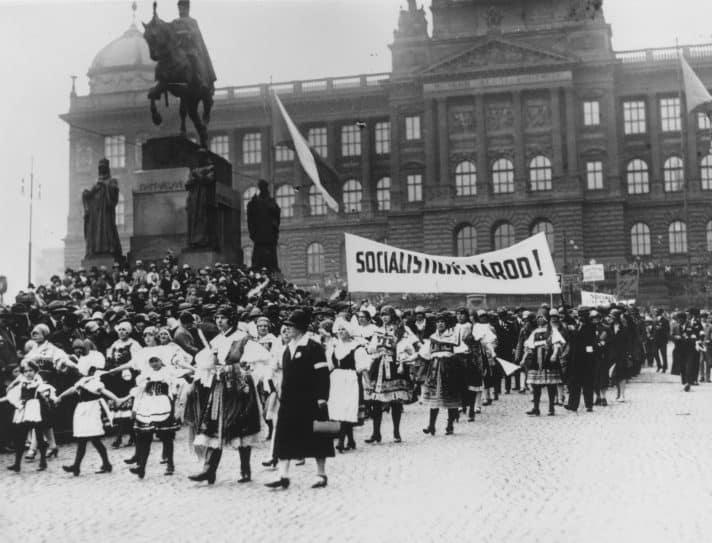 עשור לעצמאות צ'כוסלובקיה, 1928 // צילום: Three Lions, Getty Images IL
