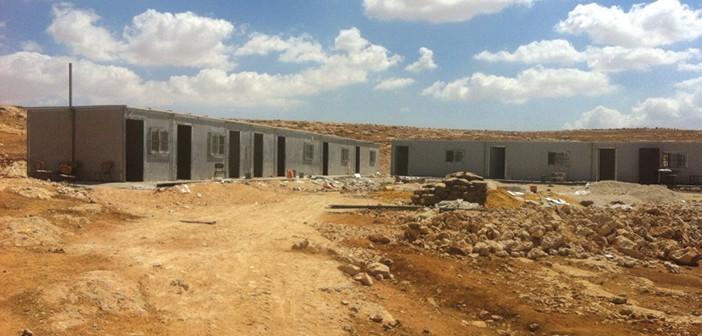 בית ספר פלסטיני בבניה בשטחי סי, קרדיט תנועת רגבים