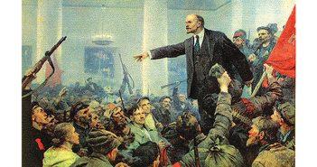 לנין ומהפכת אוקטובר, צייר ולדימיר סרוב