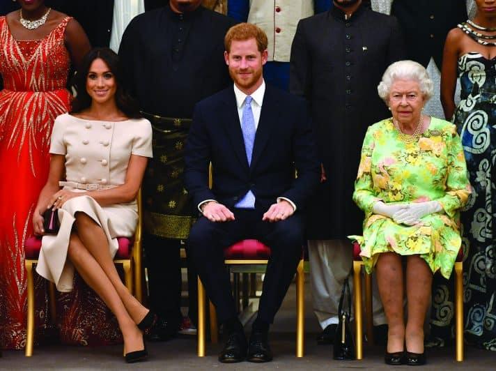 הארי, מייגן וסבתא לא מרוצה