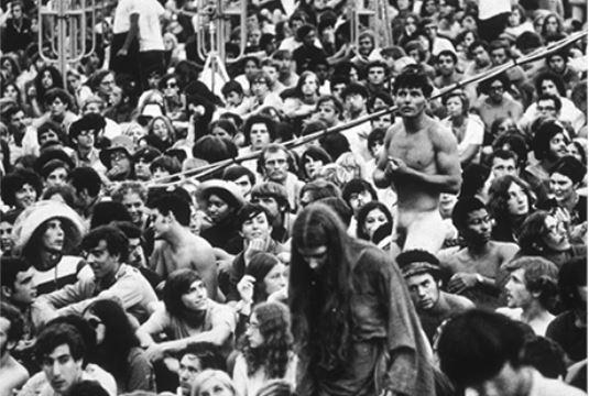 פסטיבל וודסטוק, 1969 // צילום: אימג'בנק