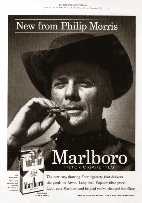 פרסומות למלבורו, 1965
