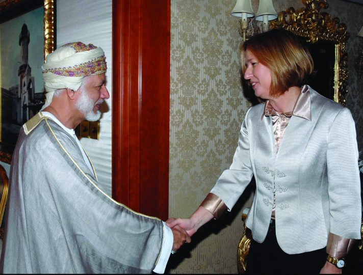 ציפי לבני בעומאן, 2008 // צילום: משה מילנר, לע״מ