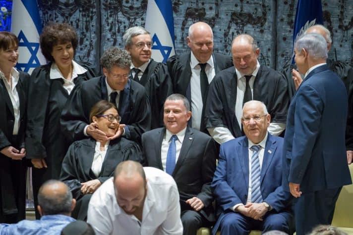 טקס ההשבעה בבית הנשיא, אוקטובר 2017 // צילום: אמיל סלמן, ׳הארץ׳