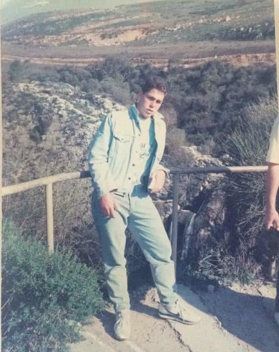 גלעד ארדן בצעירוותו