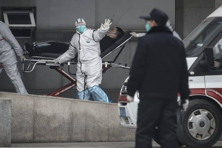 פינוי חולים בוואהן // צילום: Getty Images IL
