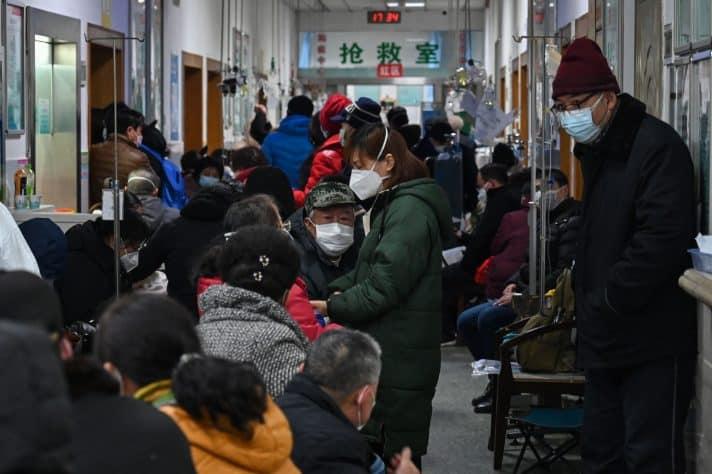בית חולים של הצלב האדום בוואהן // צילום: Hector Retamal, AFP via Getty Images IL