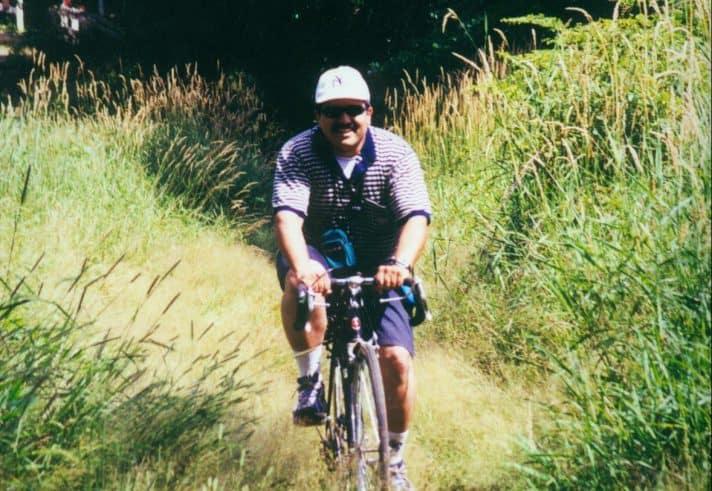 בטיול אופניים בניו ג'רזי, 2000 // צילום אלבום משפחתי