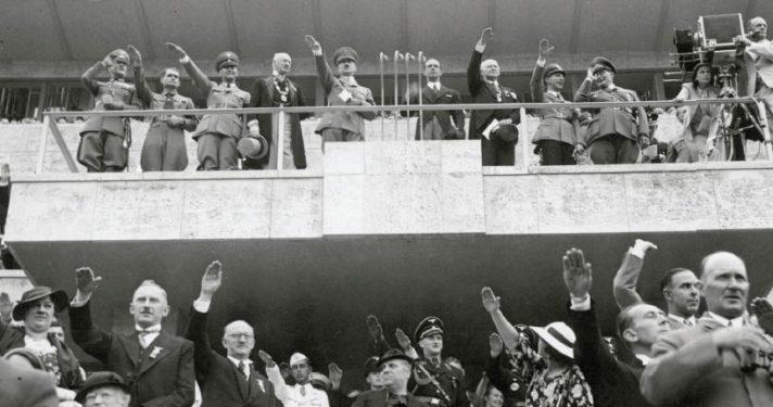 היטלר בפתיחת אולימפידת ברלין, 1936 // צילום: Getty Images IL