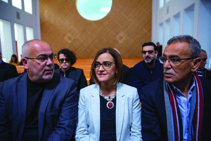 היבא יזבק בדיון בעליון על פסילת מועמדותה, השנה // צילום: אוהד צויגנברג, ׳הארץ׳