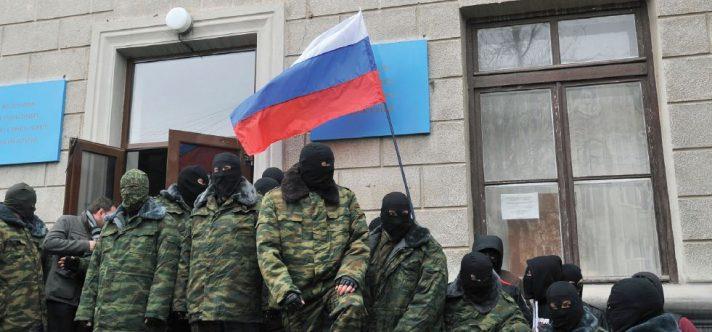 חיילים רוסים בחצי האי קרים, 2014 // צילום: Genya Savilov, AFP, Getty Images IL
