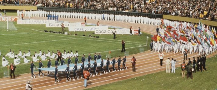 טקס הפתיחה של מונדיאל 1978 , ארגנטינה // צילום: Getty Images IL
