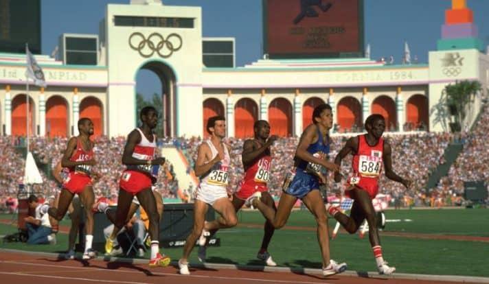 ריצת גברים ל־ 800 מטר, אולימפיאדת לוס אנג'לס 1984 // צילום: Getty Images IL