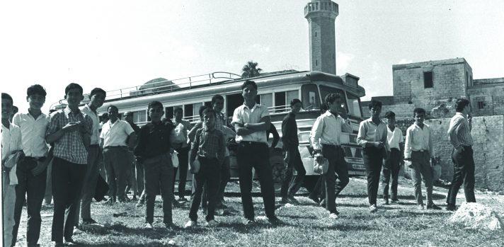 ילדים מהמגזר הערבי בתקופת הממשל הצבאי // צילום: פריץ כהן, לע״מ