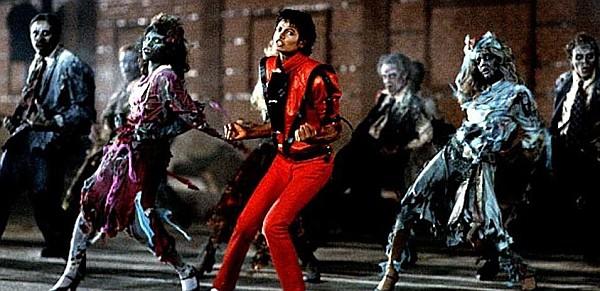 מייקל ג׳קסון בקליפ לשיר ׳מותחן׳
