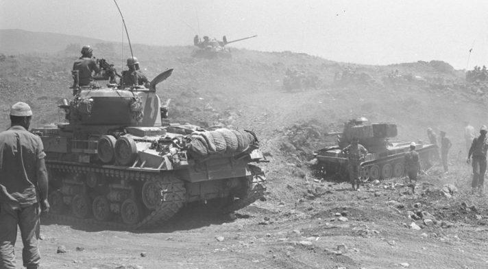 קרבות במלחמת ששת הימים // צילום: אסף קוטין, לע״מ