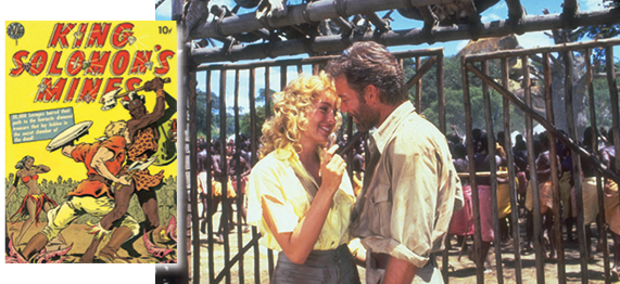 'מכרות המלך שלמה', 1985