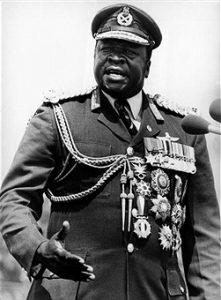 נשיא אוגנדה אידי אמין, 1978 // צילום: קייסטון, אימג'בנק
