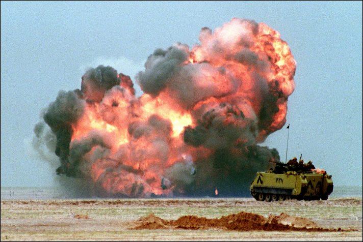 מערכה שיצרה הזדמנות מדינית, מלחמת המפרץ // צילום: איי־אף־פי, אימג'בנק