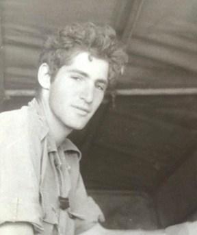 כקצין צעיר, 1982 // צילום: אוסף משפחתי