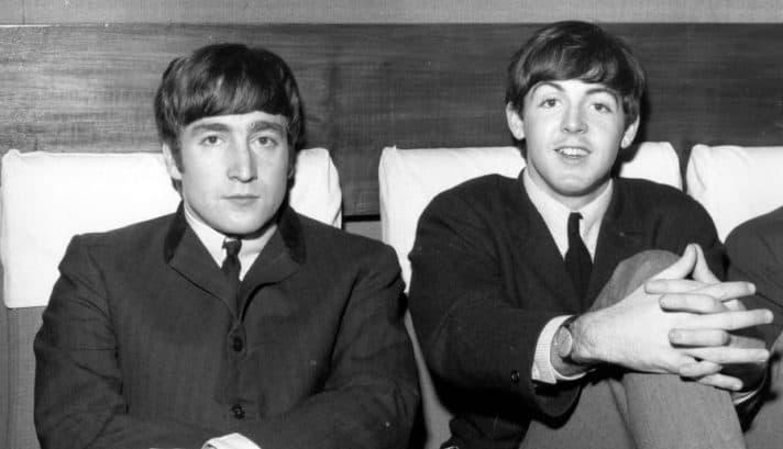 לנון ומקרטני // צילום: אימג'בנק