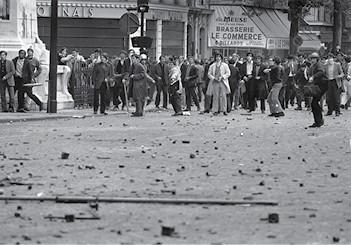אירועי מאי 1968 בפריז צילום- Reg Lancaster, Express, Getty Images IL