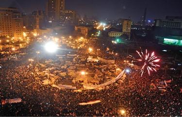 כיכר תחריר, 2011 צילום Jonathan Rashad, Flickr