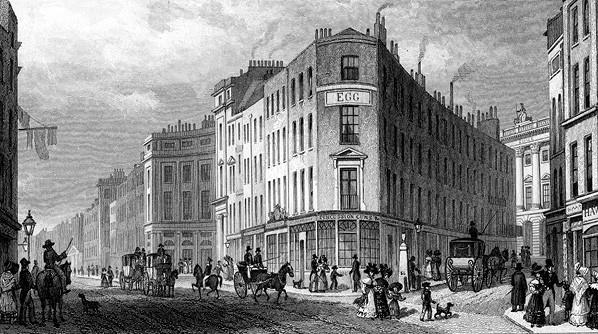 פיקדילי, לונדון, סוף המאה ה־19 צילום The Print Collector, Getty Images IL