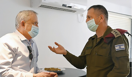 כוכבי עם גנץ צילום אריאל חרמוני, משרד הביטחון