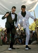 חתונה של זוג גברים בישראל צילום אוליבייה פיטוסי, ׳הארץ׳