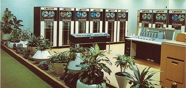 מחשב ענק במשרד, שנות ה־50 צילום Image Holdings, Corbis via Getty Images IL