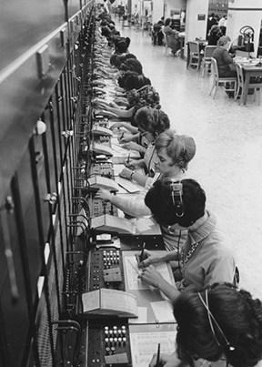 מרכזיית טלפון, שנות ה־30