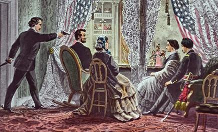 רצח לינקולן, 1865 ,איור