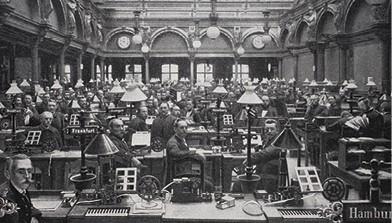 תחנת טלגרף במאה ה־19 צילום Bildagentur-online, Universal Images Group via Getty Images IL