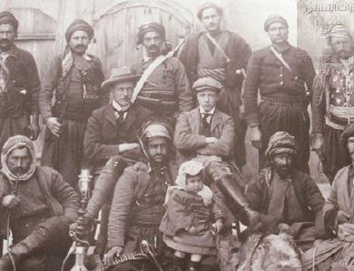 מארק סייקס בחברת לבנונים, בשנים שקדמו לחתימת ההסכם