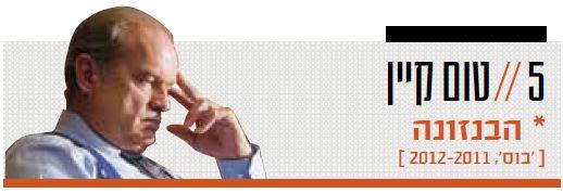 5 // טום קיין [ 'בוס', 2011–2012 ]