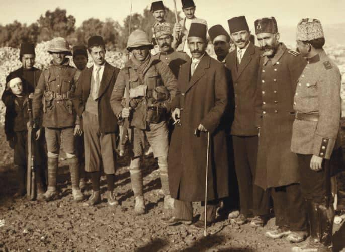 כניעת העות'מאנים לבריטים בירושלים, דצמבר 1917