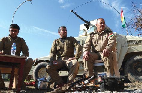 לאומים שהתעלמו מהם. לוחמים כורדים בעיראק // צילום: אימג'בנק