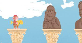 הנשיא האחרון / איור ניר גולן