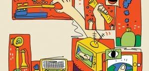 חיים בזרם // מהטלגרף ועד האייפון: כך התפתח עידן המידע // מאת אורן נהרי