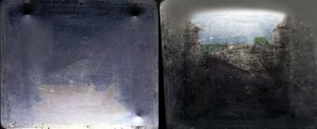 התיעוד הצילומי הראשון, 'נוף מחלון בלה גרא'
