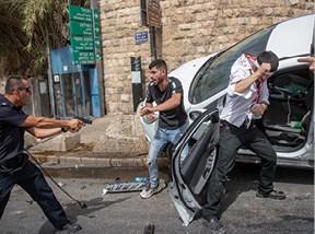 מהומות ביום ירושלים האחרון צילום אוהד צויגנברג, ׳הארץ׳