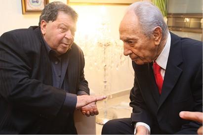 פואד ופרס, 2006 צילום דודו בכר, ׳הארץ׳
