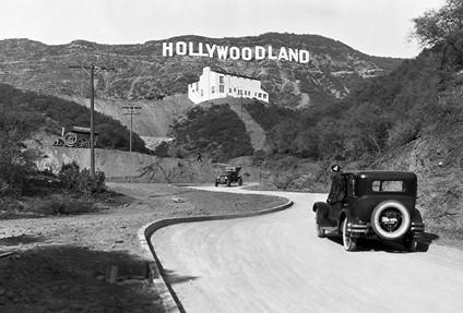 פרויקט ׳הוליוודלנד׳, 1924 צילום Underwood Archives, Getty Images