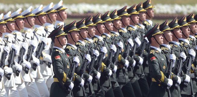מצעד צבאי בסין, 2017 // צילום: AAMIR QURESHI, AFP, Getty Images IL