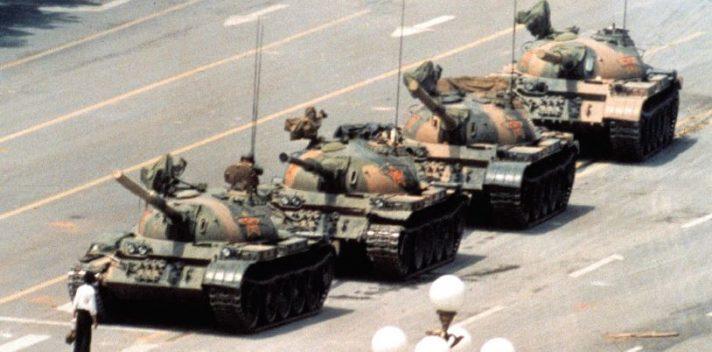 בכיכר טיאננמן, 1989 // צילום: ויקיפדיה