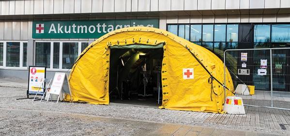 הקורונה בשוודיה. לא הוטלו מגבלות, גם בלי חיסונים // צילום: Michael Campanella, Getty Images